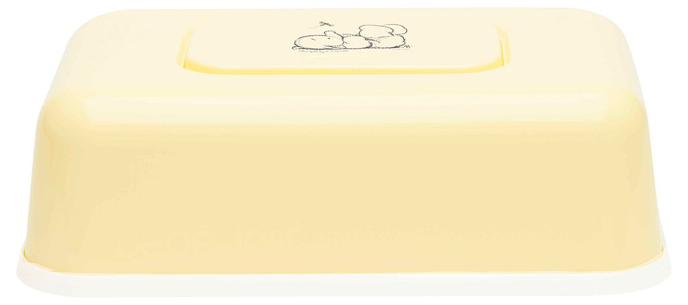 BEBE JOU футляр пластиковый для  влажных салфеток лимон нежный NEW