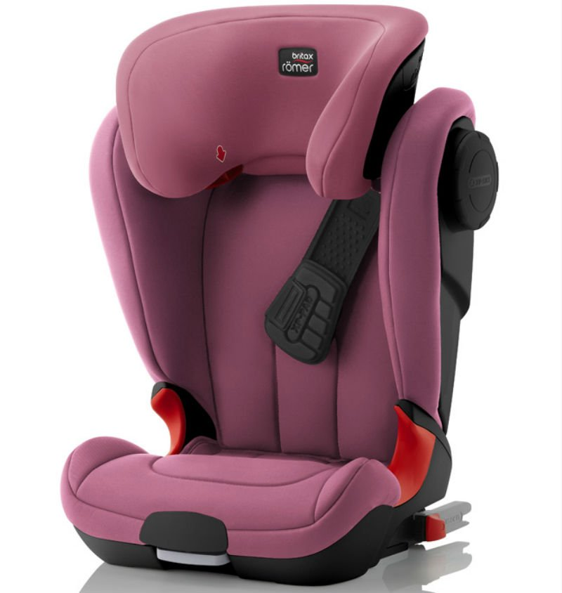BRITAX ROEMER автокресло KIDFIX XP SICT Wine Rose Black Series Wine Rose (Группа 2-3, от 15 до36 кг)