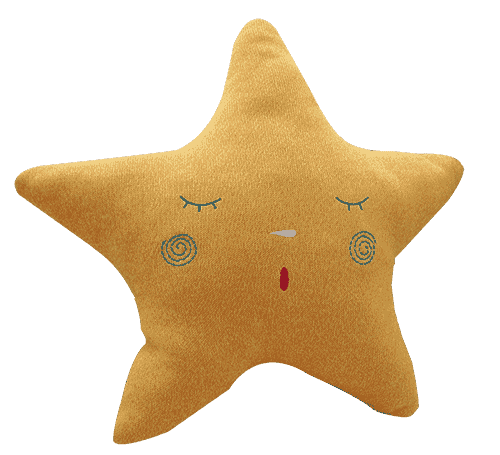 Mimiru подушка Handmade Sleeping Star