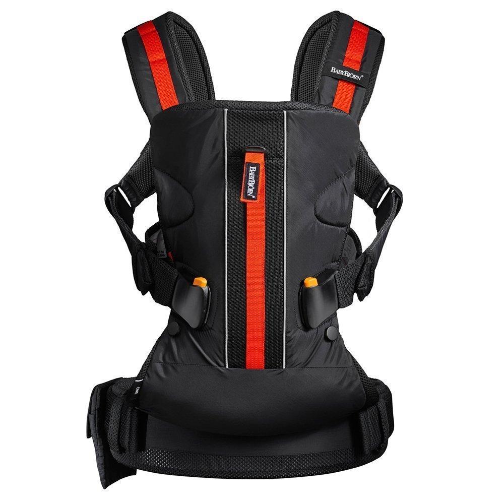 BABYBJORN рюкзак для переноски ребенка ONE Outdoors черный