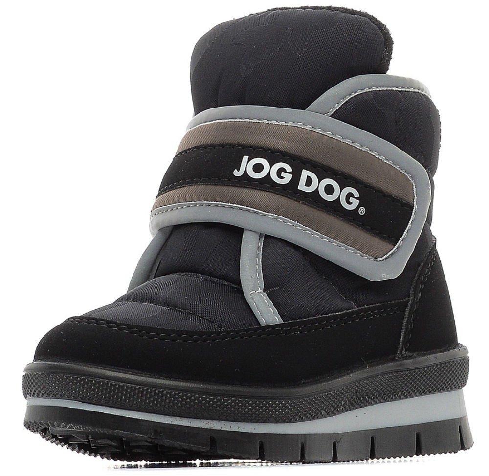 Jog dog ботинки детские черный камуфляж р.27