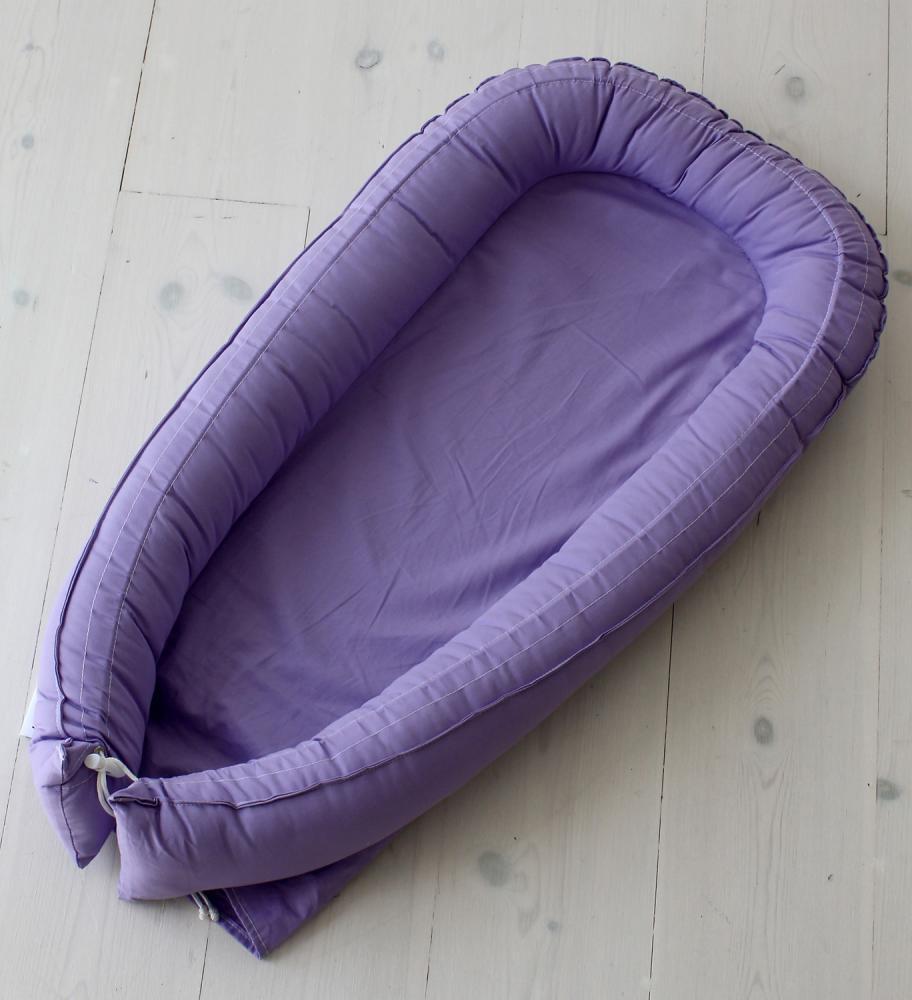 BABYNEST матрасик-кокон purple  70 х 30 см