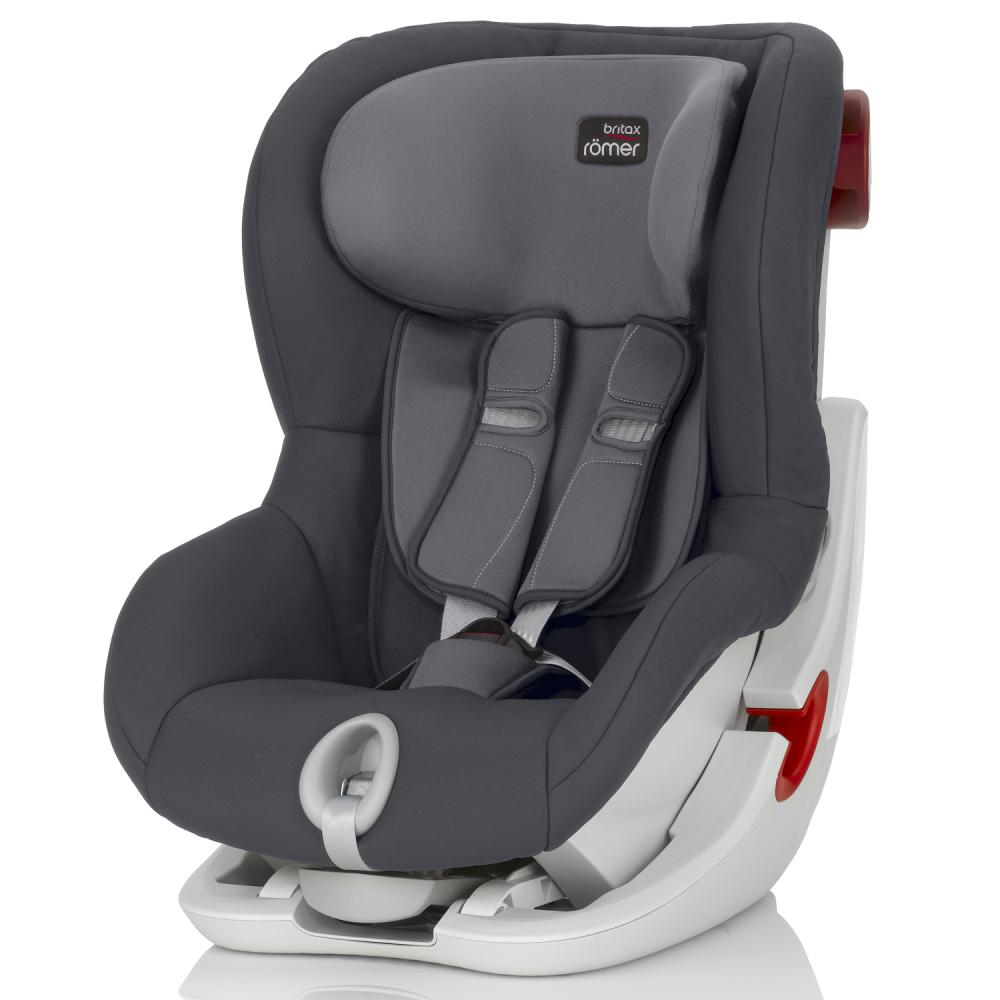 Britax Roemer автокресло KING II Storm Grey (группа 1, от 9 до 18 кг)