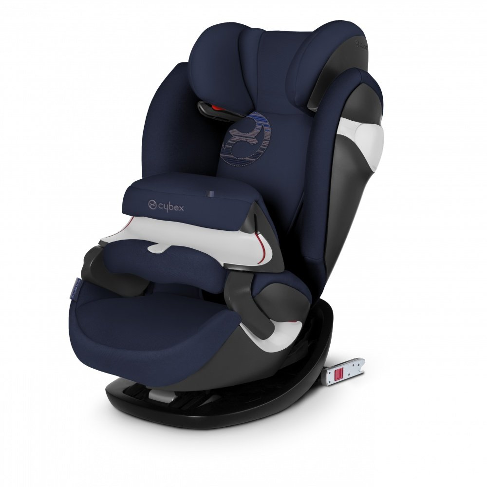 Cybex автокресло Pallas M-Fix Denim Blue (гр.1/2/3)