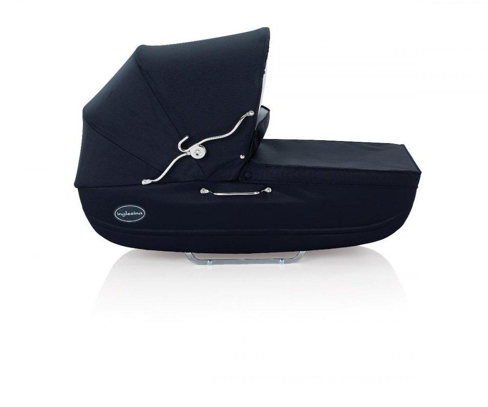 INGLESINA коляска Classica Marina на шасси Balestrino Chrome/Blue (AB05E0MAR+AE05E1000)