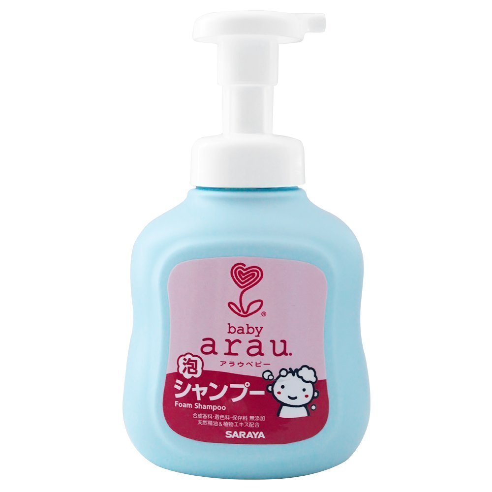 ARAU BABY детский пенящийся шампунь для волос, 450 мл