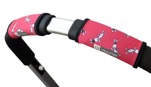CityGrips Чехлы на ручки для универсальной коляски  Pink bunny