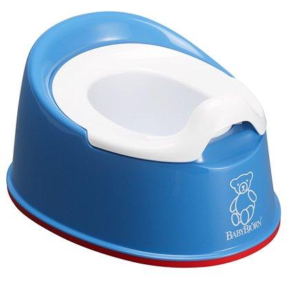 BABYBJORN горшок детский SMART синий 0510.15