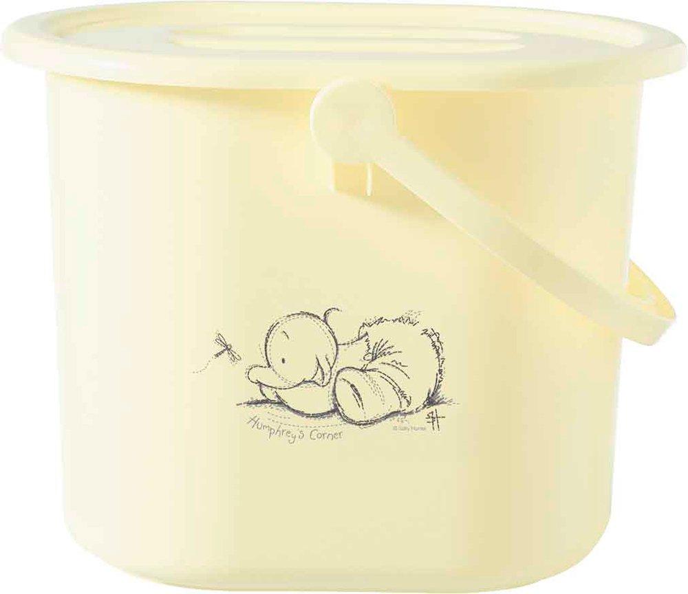 BEBE JOU ведро для наполнения, слива ванночки и использованных подгузников лимон нежный