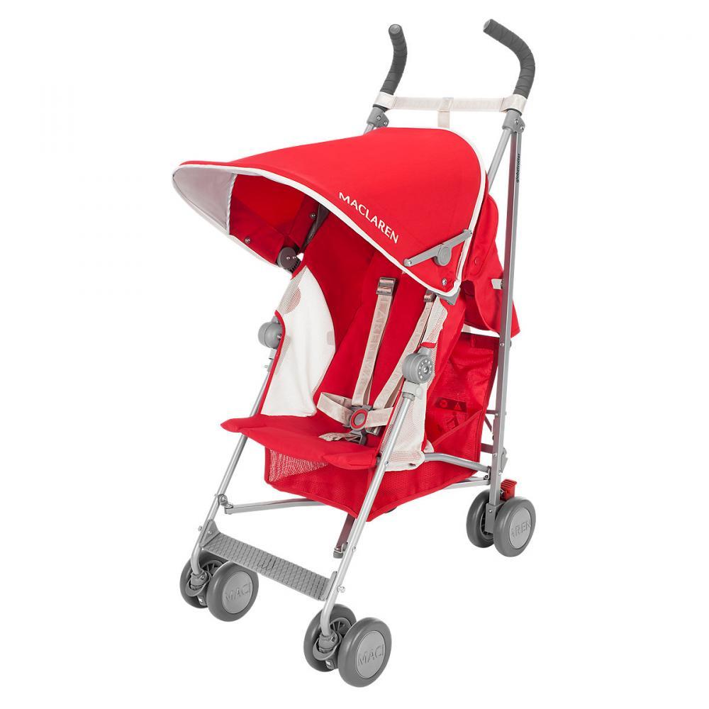 MACLAREN коляска прогулочная GLOBETROTTER Cardinal/White