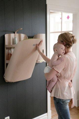 byBO Design пеленальник подвесной  белый