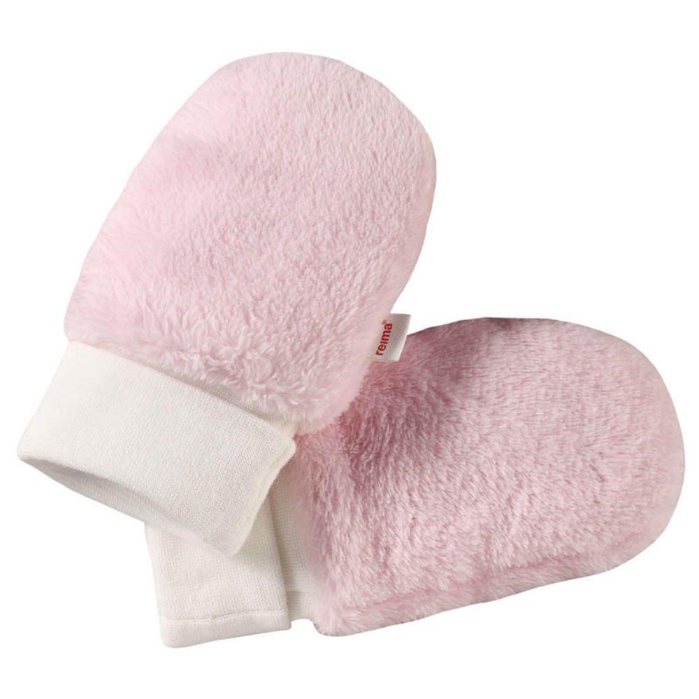 Шапки, варежки, перчатки, REIMA варежки флисовые LEPUS розовые р.6-18мес.  - купить со скидкой