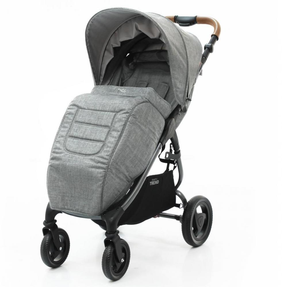 Купить Конверты, муфты для колясок и автокресел, VALCO BABY Накидка на ножки Valco baby Boot Cover Snap, Snap 4 Trend / Grey Marle