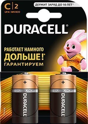 Купить Развивающие коврики, центры, DURACELL элемент питания LR14 PLUS(C), 2шт.