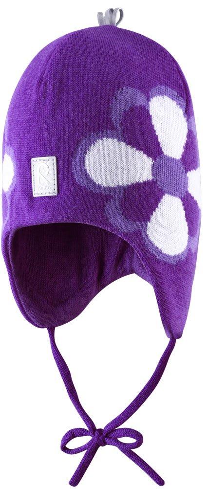 Купить Шапки, варежки, перчатки, REIMA KIDS шапка шерстяная Bellatrix фиолетовая р.46