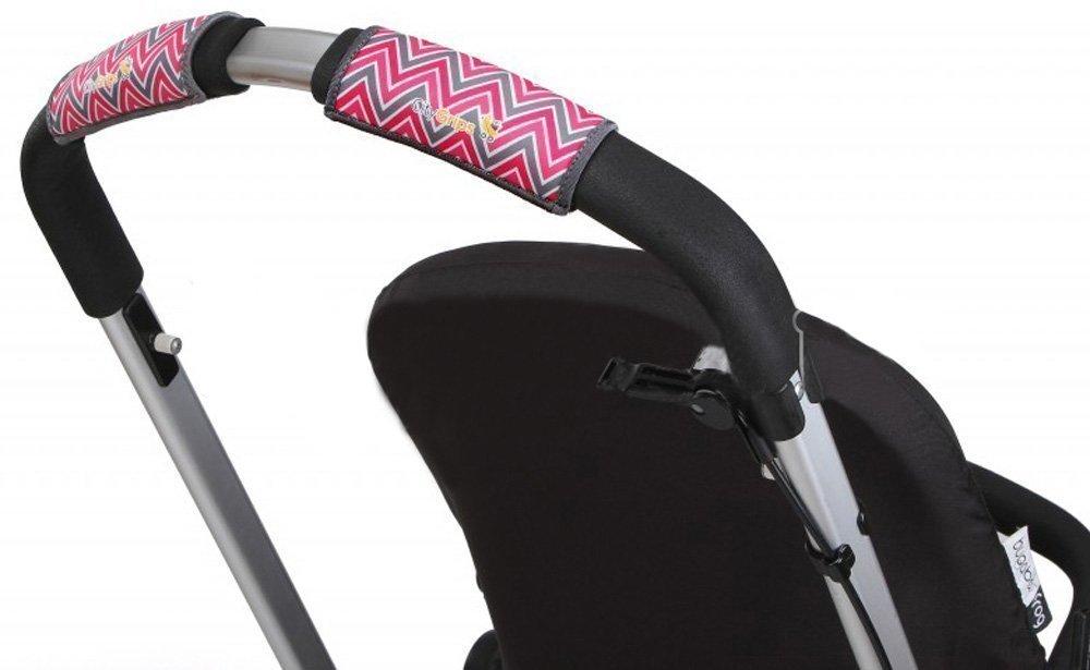 CityGrips Чехлы на ручки для универсальной коляски Chevron Baby Pink CITYGRIPS_чехол универсальный