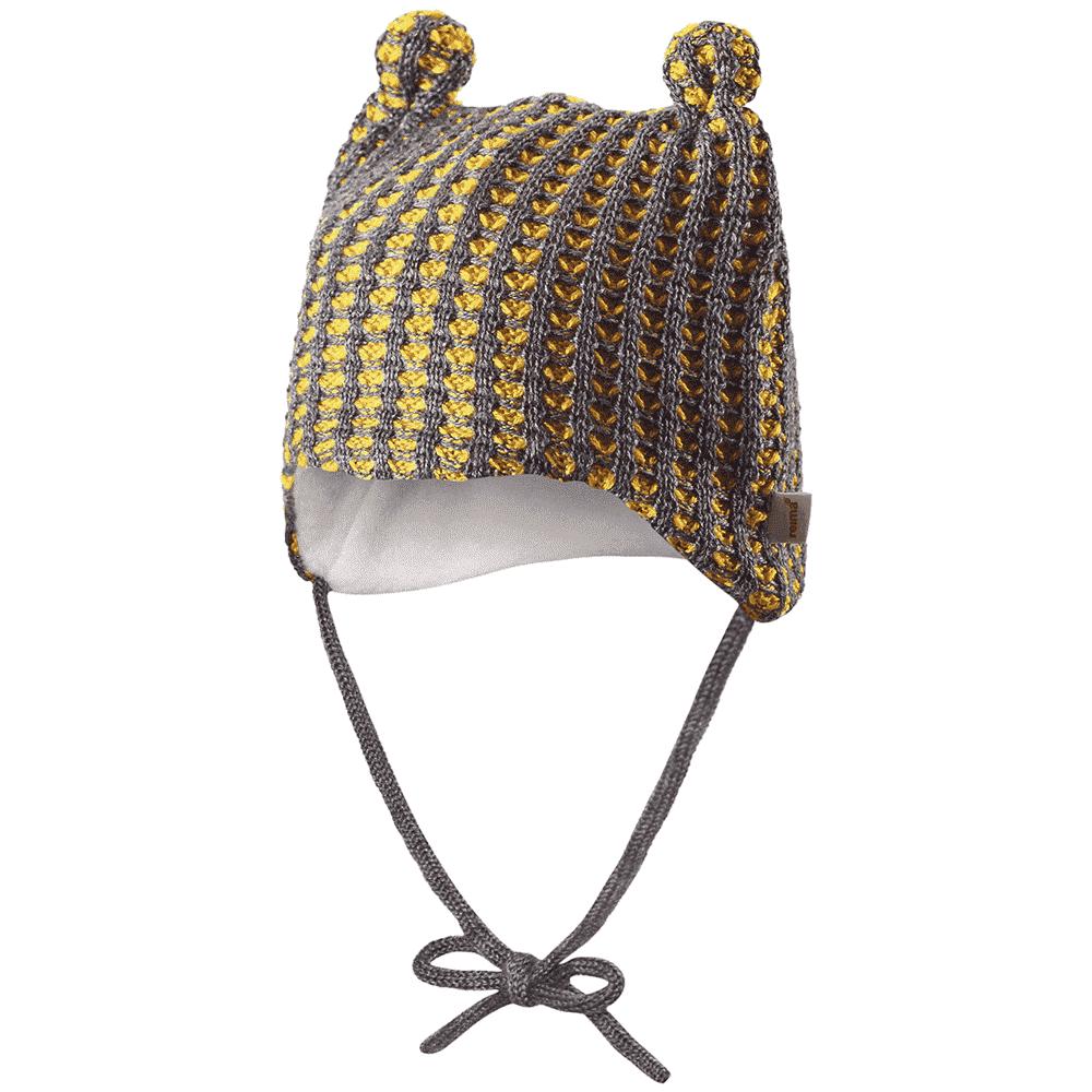 REIMA BABY шапка шерстяная Torkku желтая р.36/38 518379-2320-036