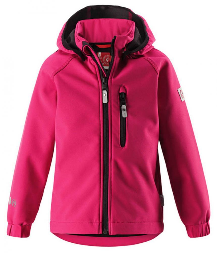 Купить Одежда для весны и осени, REIMA куртка Softshell VANTTI малиновая р.104