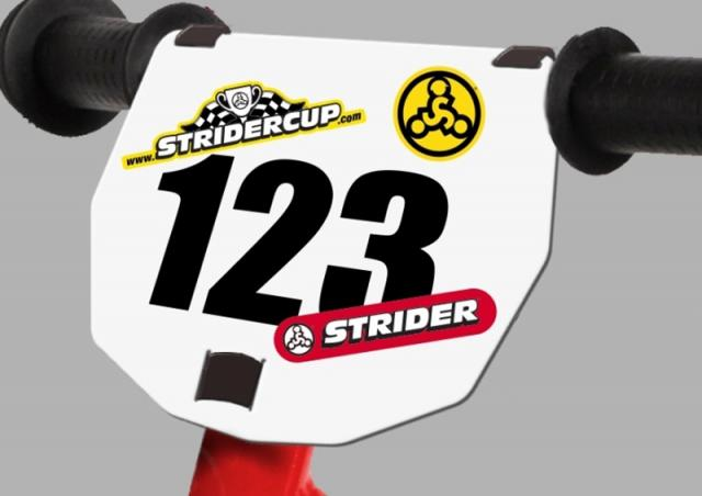 STRIDER номер на руль