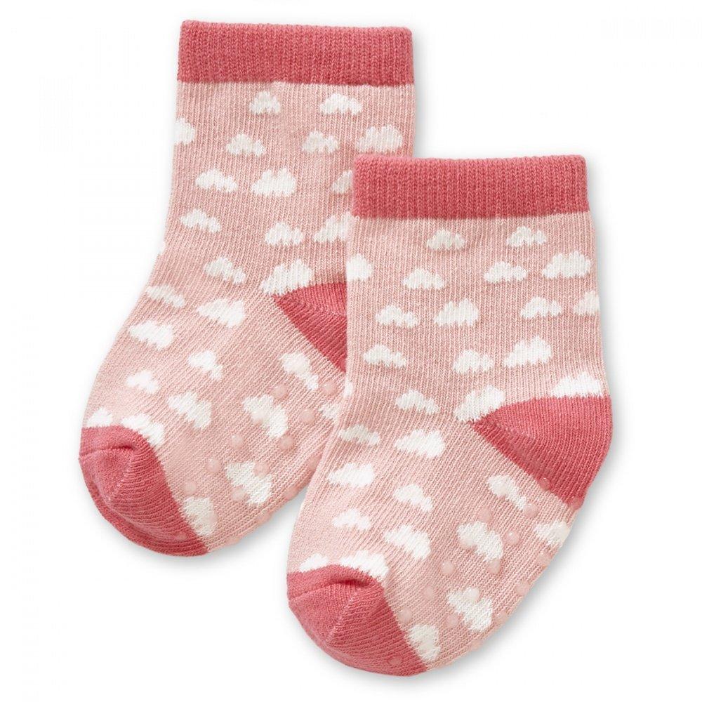 HAPPYBABYDAYS Носочки, 1 пара, &quot,Дождик любви&quot,, трикотаж 0-6 мес., розовый (0551-2030-6 IRL)