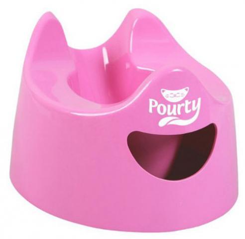 POURTY POTTY горшок детский Easy Pourty розовый