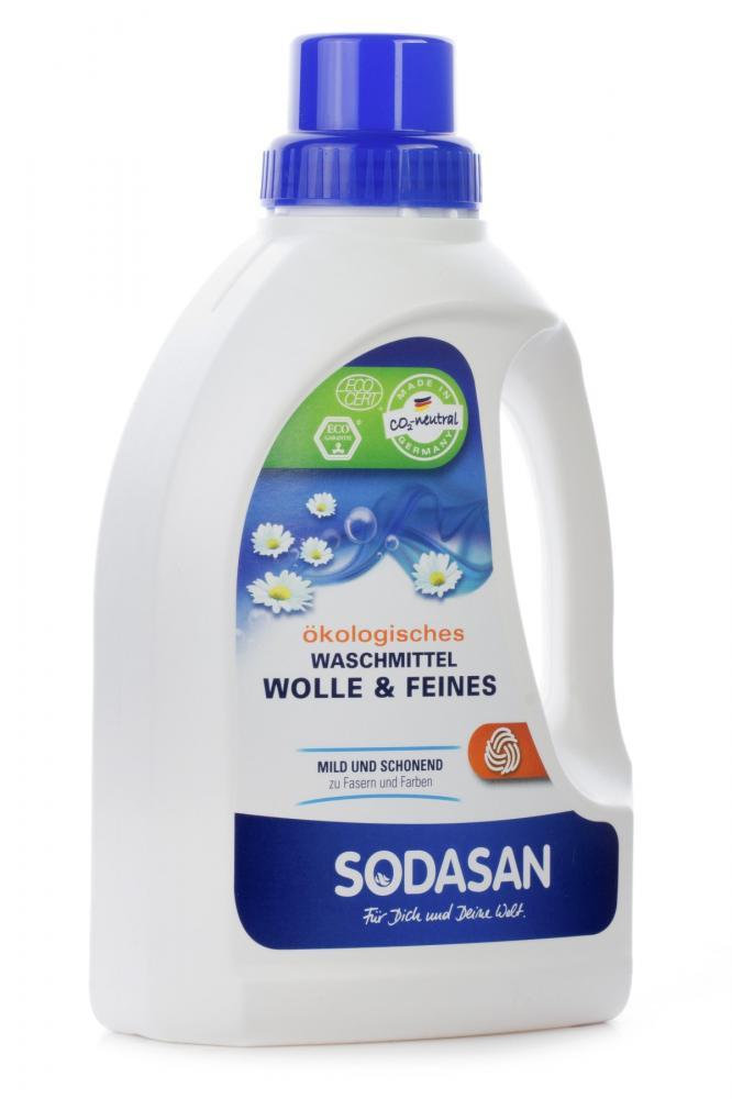 Купить Стирка, уборка, мытье посуды, SODASAN Жидкое средство для стирки деликатных тканей, 750 мл
