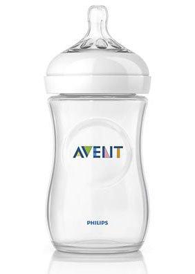 PHILIPS AVENT бутылочка для кормления. Серия Natural, 260 мл., 1 шт PP 86015
