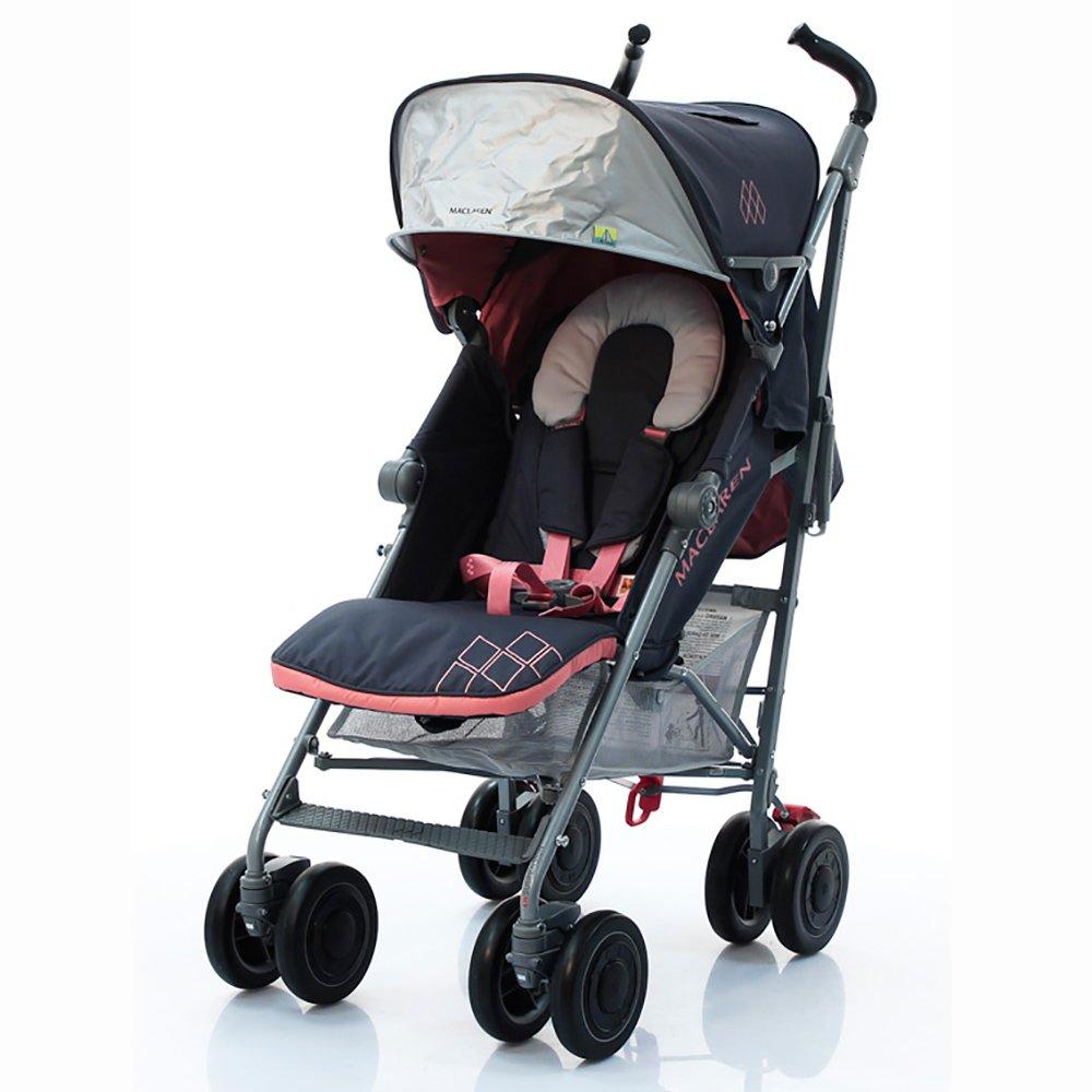 MACLAREN коляска прогулочная TECHNO XT Charcoal/ Primrose от olant-shop.ru