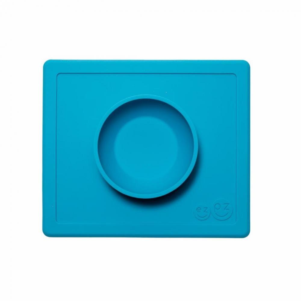 EZPZ Тарелка с подставкой Happy Bowl, синий