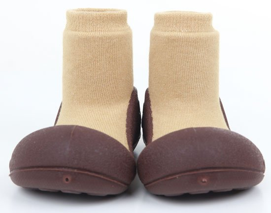 ATTIPAS обувь Natural Herb бежевый, р. S (3-6мес.)