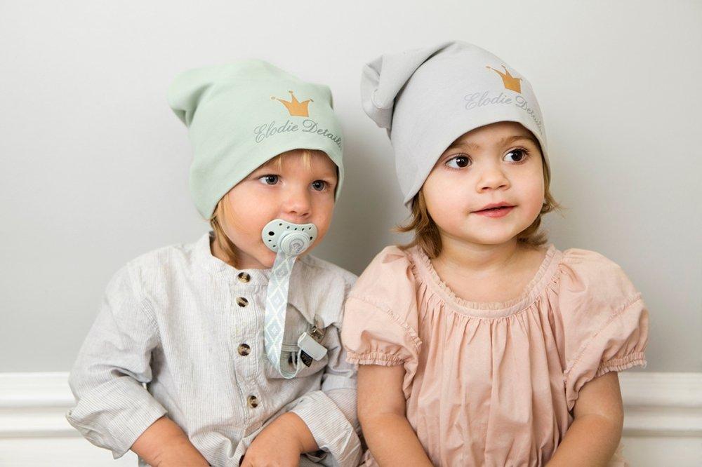 ELODIE DETAILS шапка Dusty Green  р. 0-6 мес. от olant-shop.ru