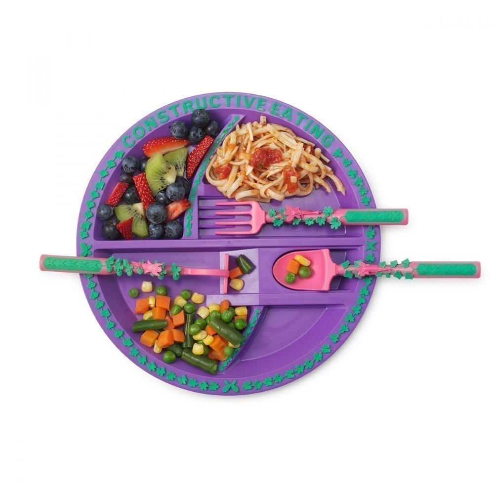 CONSTRUCTIVE EATING Тарелка Серия Волшебный Сад