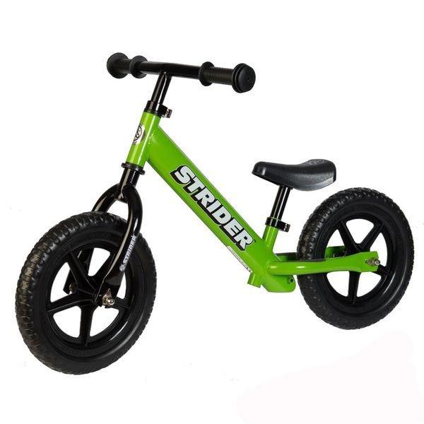 STRIDER беговел 12' Classic зеленый