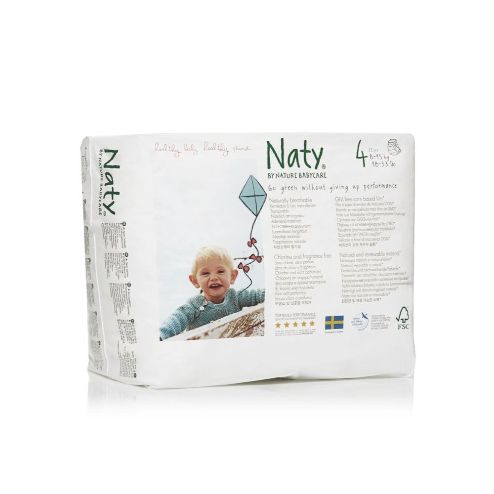 NATY подгузники-трусики размер 4 (8-15 кг) 22 шт.