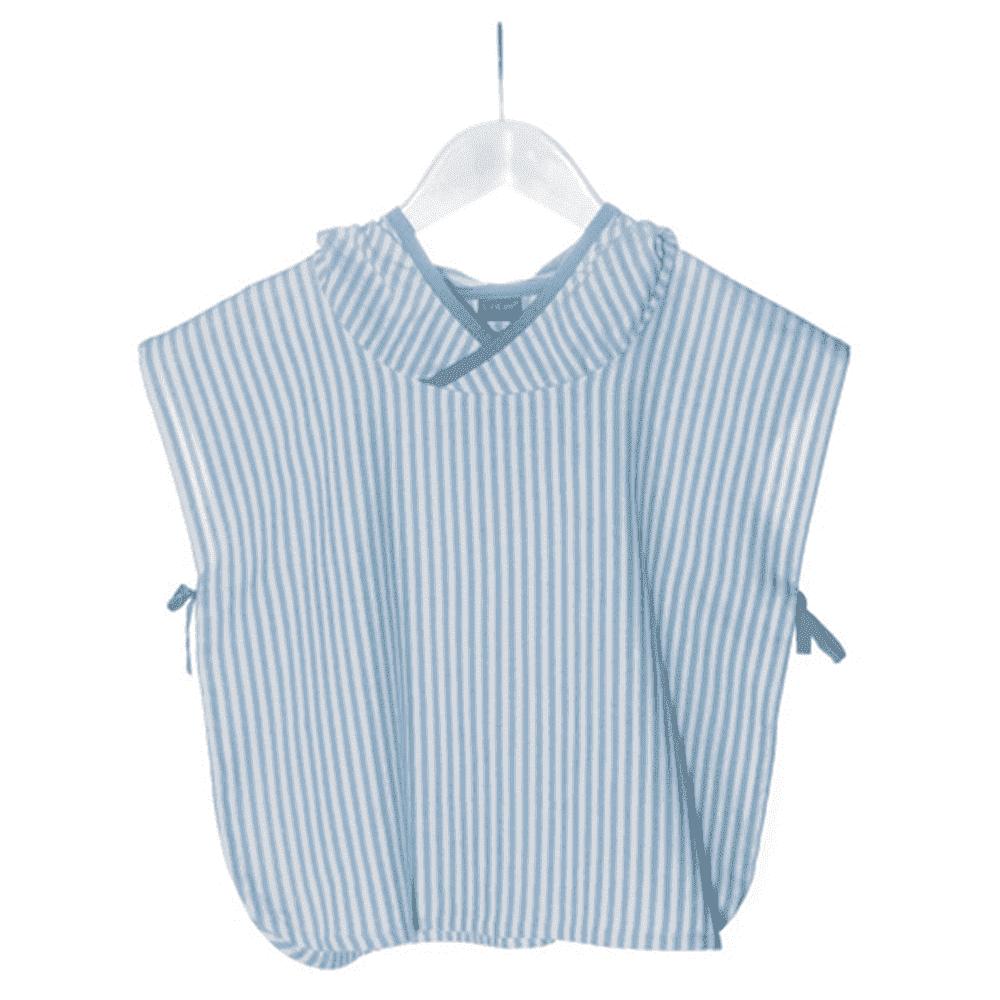 KIPKEP полотенце-пончо S  1-2года, нежно-голубой