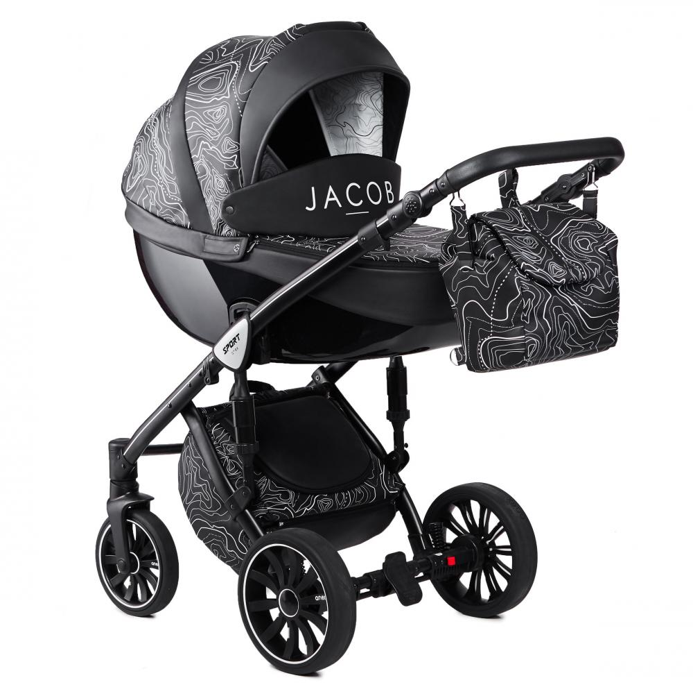 Купить Коляски для новорожденных, ANEX SPORT Коляска 2 в 1 Q1 (Ab07) Jacob