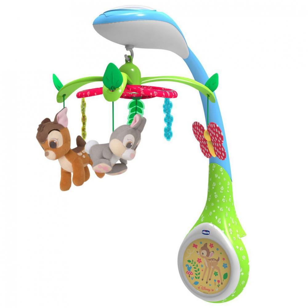 "CHICCO Игрушка-проектор для кроватки ""Бэмби"" 0м+"