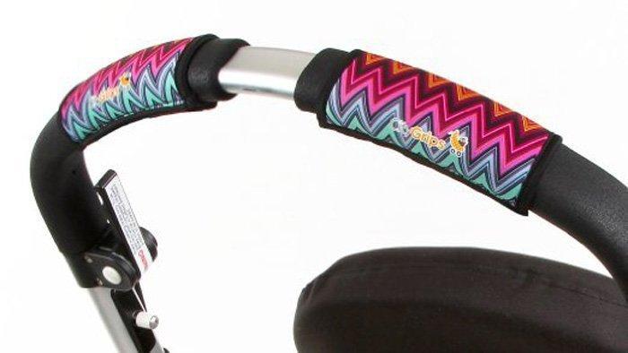 CityGrips Чехлы на ручки для универсальной коляски ZigZag Color