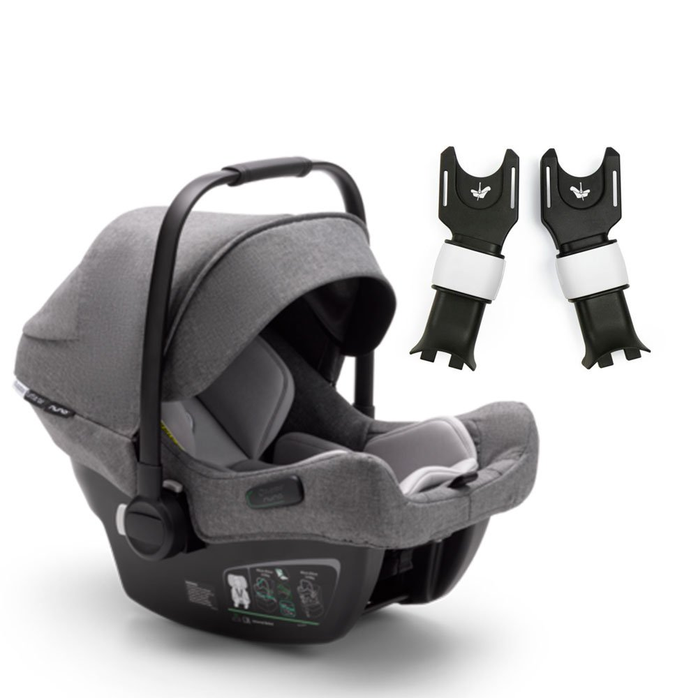 Bugaboo Turtle Air by Nuna для Cameleon3 автокресло+ адаптер Grey 0+