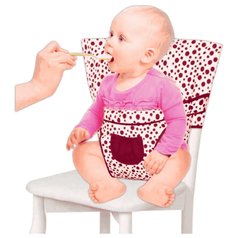 SEVI BABY мобильный стульчик для кормления цв. красный 152-11 sevi baby
