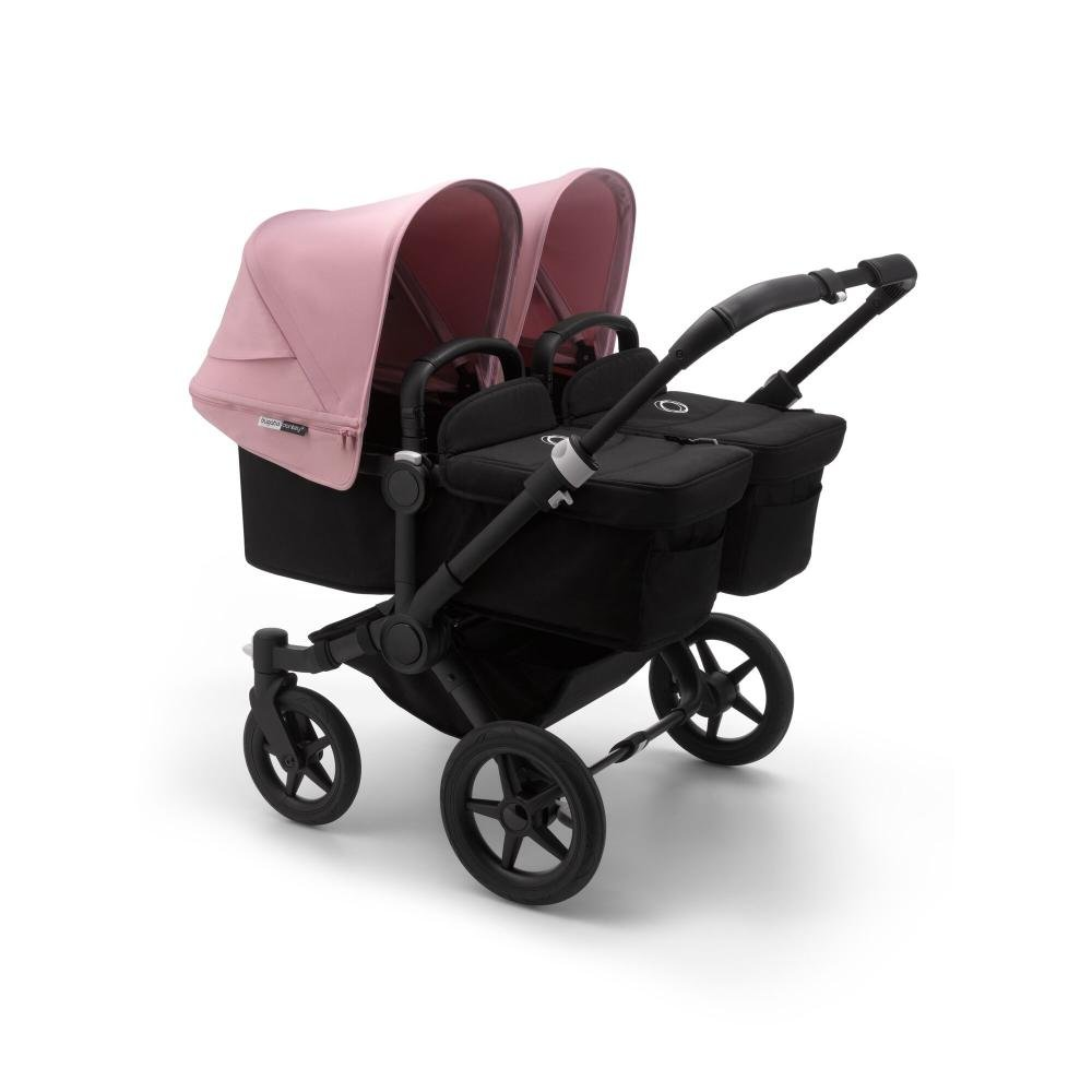 Bugaboo Donkey3 коляска 2 в 1 для двойни Twin Black/Black/Soft Pink