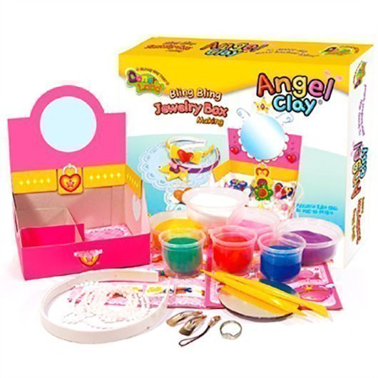 "ANGEL CLAY Игровой набор для творчества ""Jewerly Box"" AA15031"