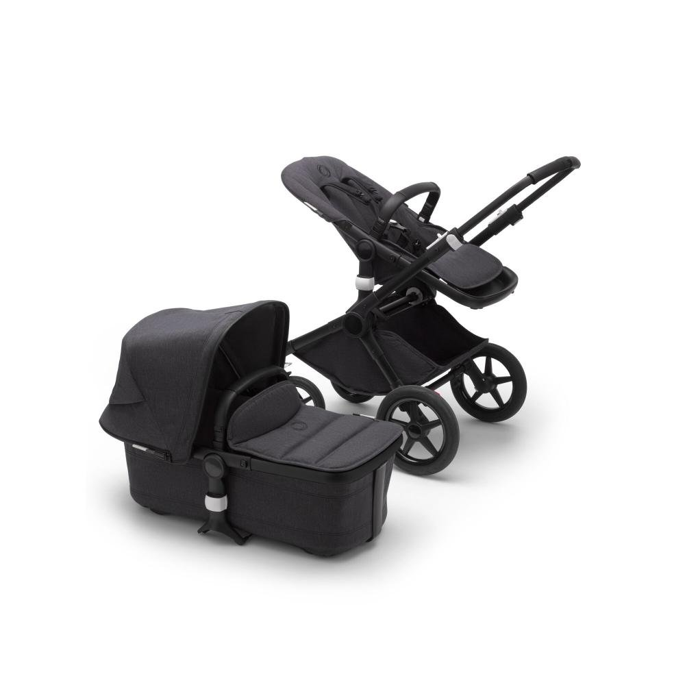 Bugaboo Fox2 коляска 2 в 1 Mineral Black/Washed Black complete