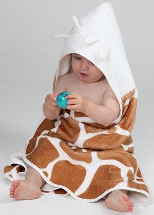 CUDDLEDRY накидка с капюшоном для малышей Сафари 120337