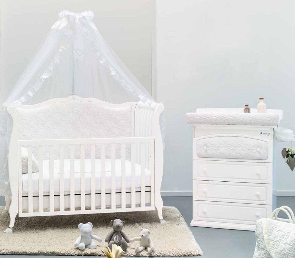 AZZURRA кровать детская RINASCIMENTO  WHITE