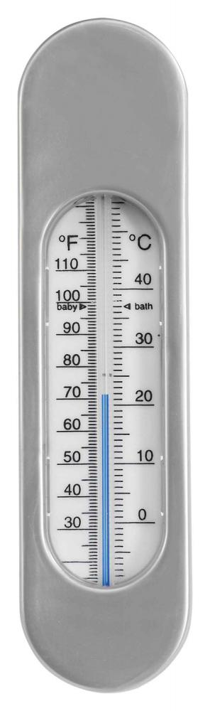 LUMA термометр для воды серебристый