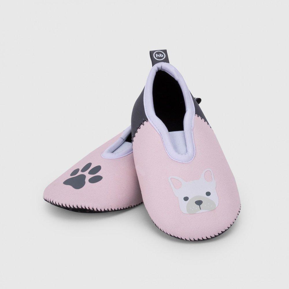 Купить со скидкой Happy baby плавательные тапочки р. 24-25 розовые