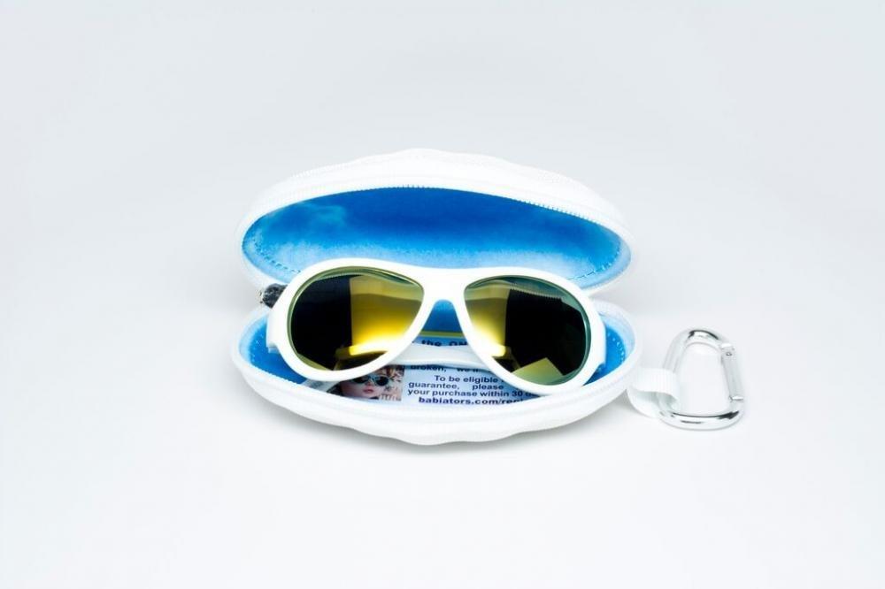 BABIATORS очки солнцезащитные Polarized (3-7+) Шалун белые BAB-052