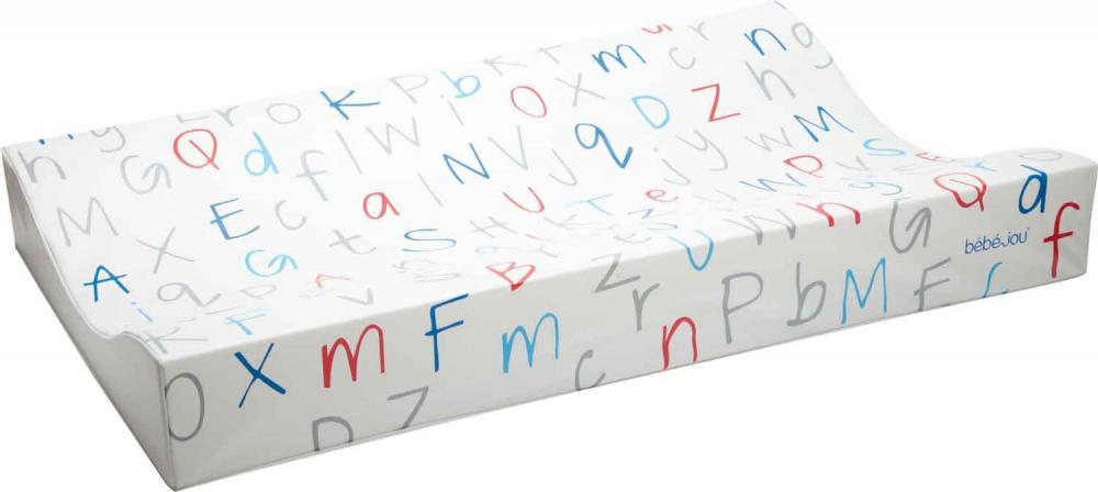 BEBE JOU матрасик для пеленания 72*44 алфавит