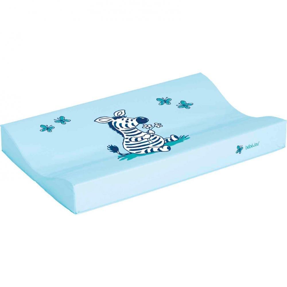 BEBE JOU матрасик для пеленания 72*44 голубой